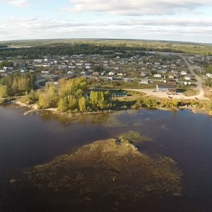Fort Hope Drone Shot 02